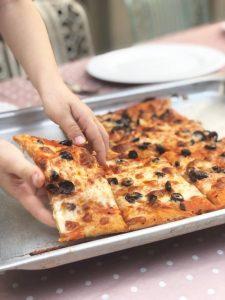 פיצה מקמח מלא